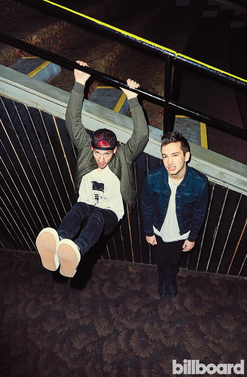 Twenty One Pilots — Фото на обложку Billboard