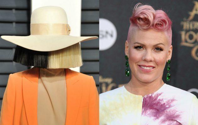 Waterfall - новый совместный сингл Sia и Pink