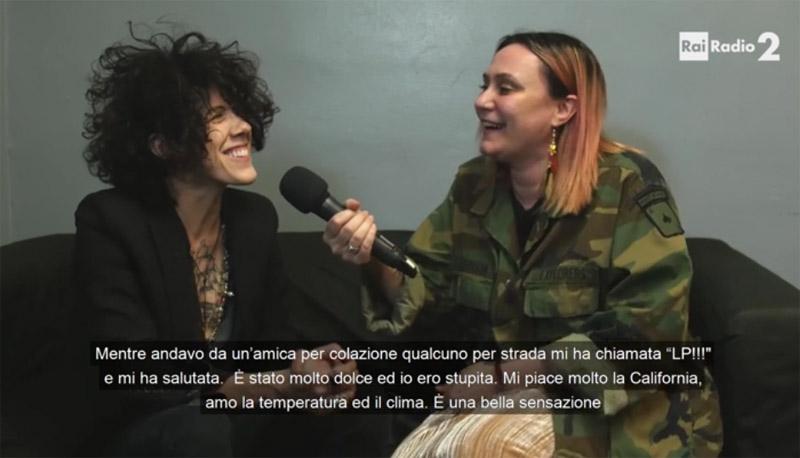 Интервью с LP на Radio 2