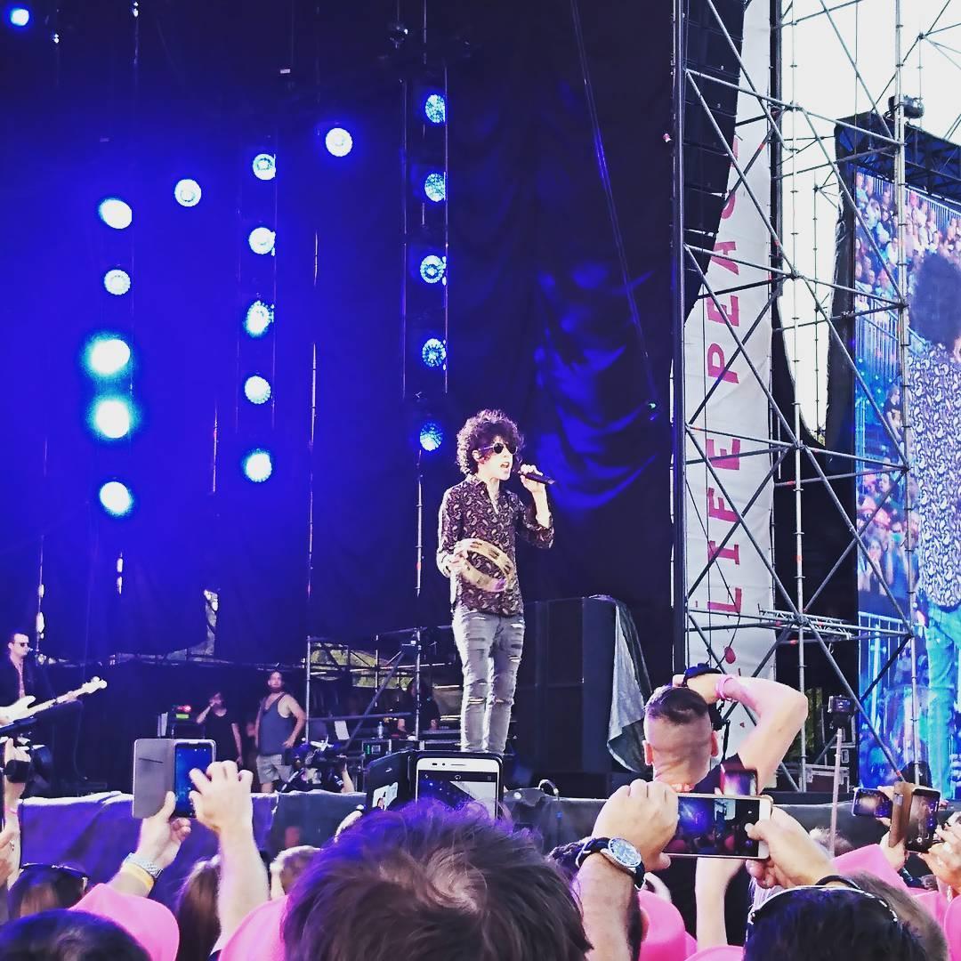 LP — Летний Европейский Тур, день 8: Фестиваль Tauron Life Festival, Польша