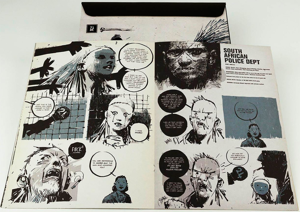 Комиксы от Die Antwoord - FUCK EVERYONE