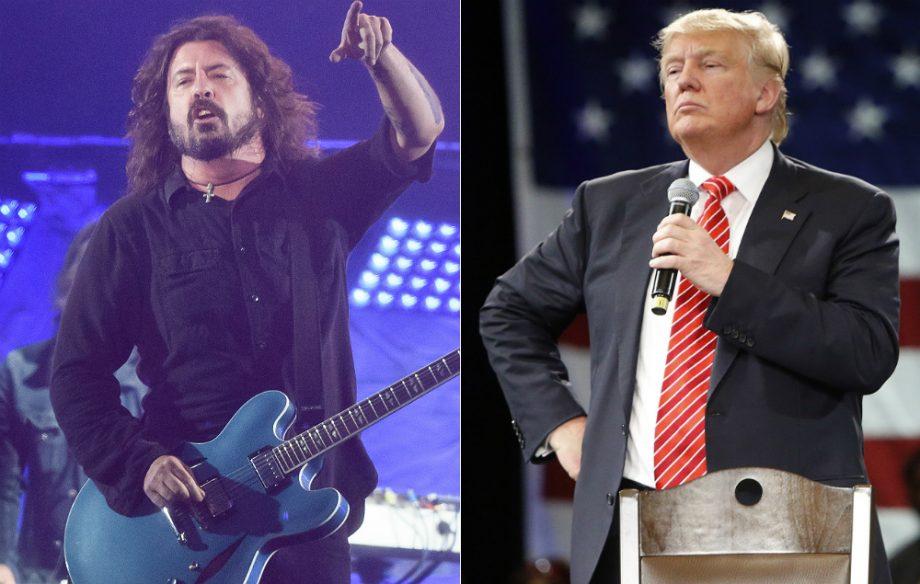 Дональд Трамп вдохновил Foo Fighters на создание нового альбома