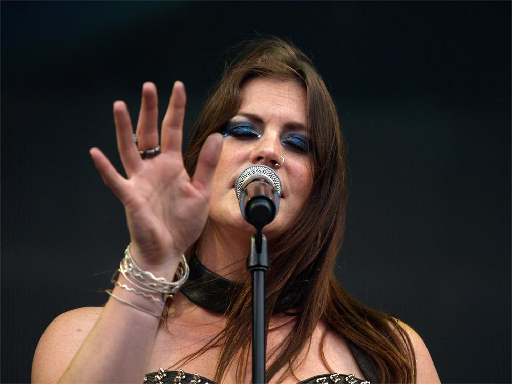 Флор Янсен из Nightwish