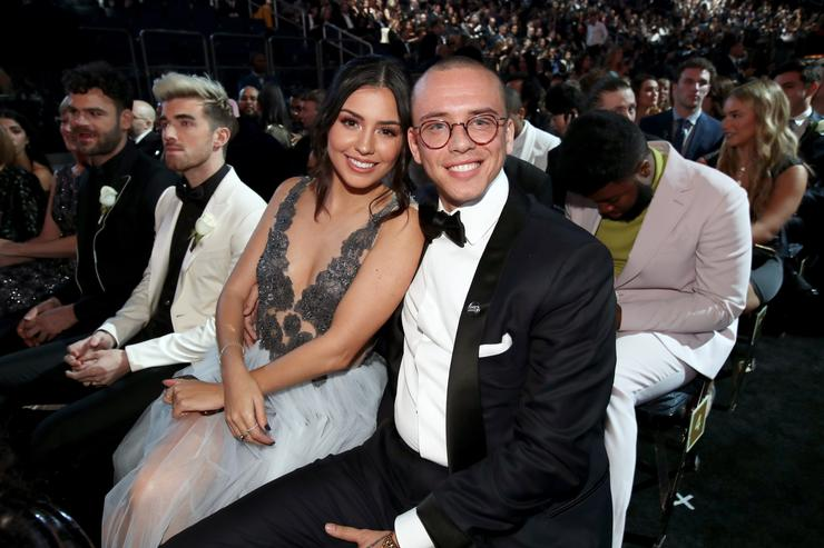 Logic расстался с женой Джессикой Андреа
