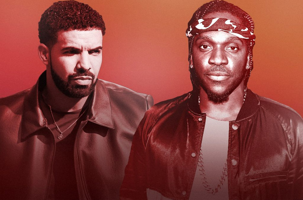 Drake рассказал, почему он не стал отвечать Pusha-T