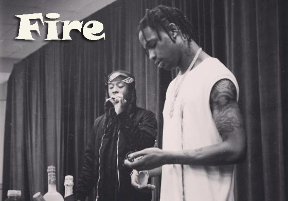 Travis Scott: Fire ft. Ty Dolla $ign - перевод