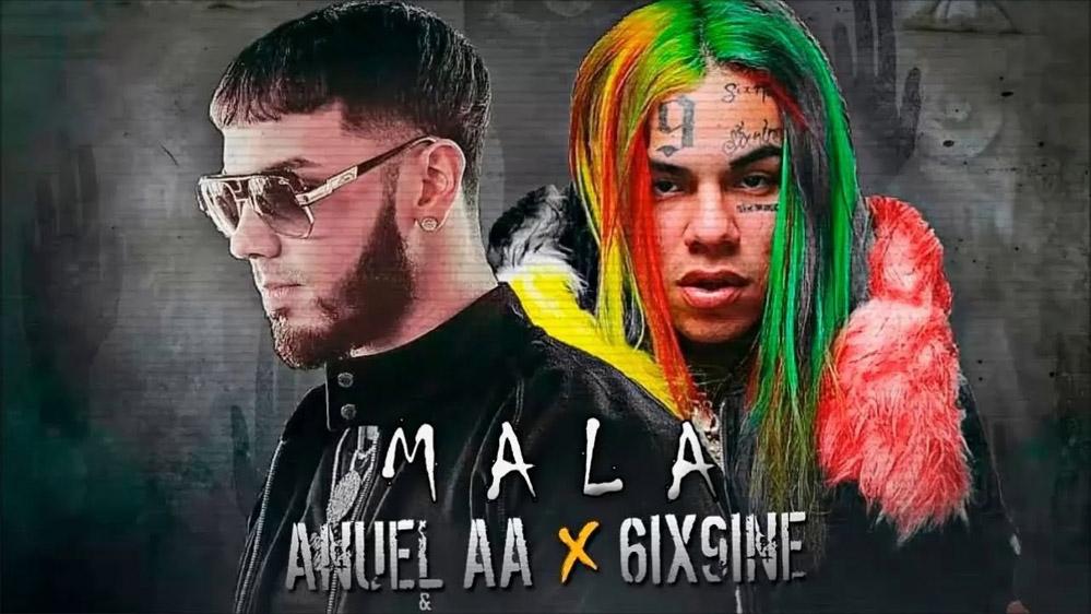 Tekashi 6ix9ine: MALA ft Anuel AA - перевод