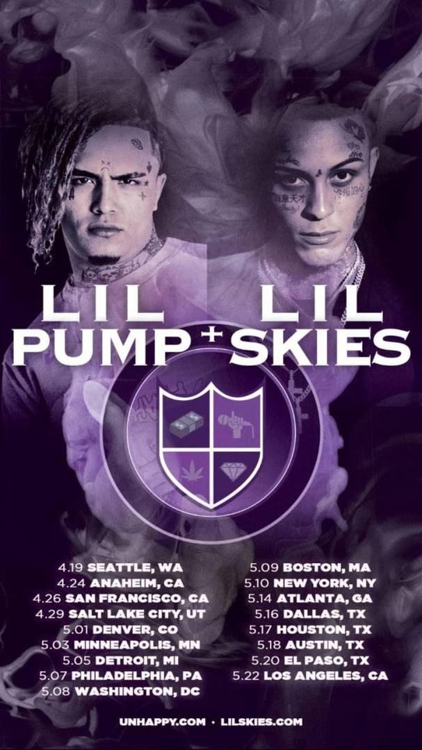 Lil Pump и Lil Skies собираются в совместный тур