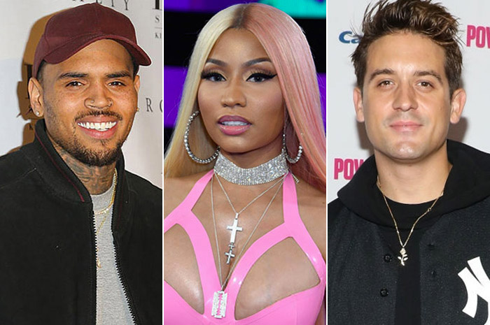 Chris Brown ft Nicki Minaj & G-Eazy: Wobble Up - перевод