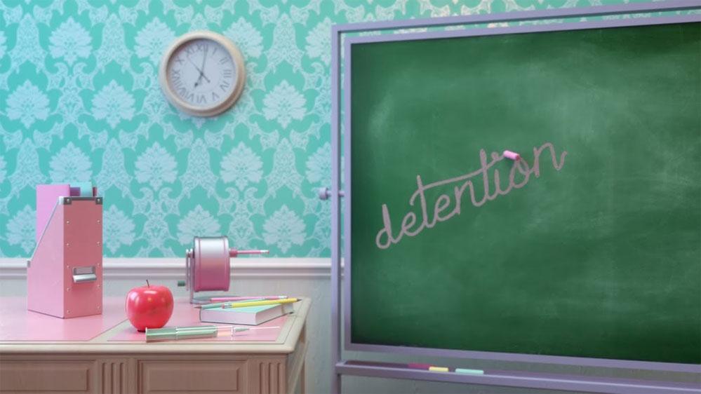 Melanie Martinez: Detention - перевод песни