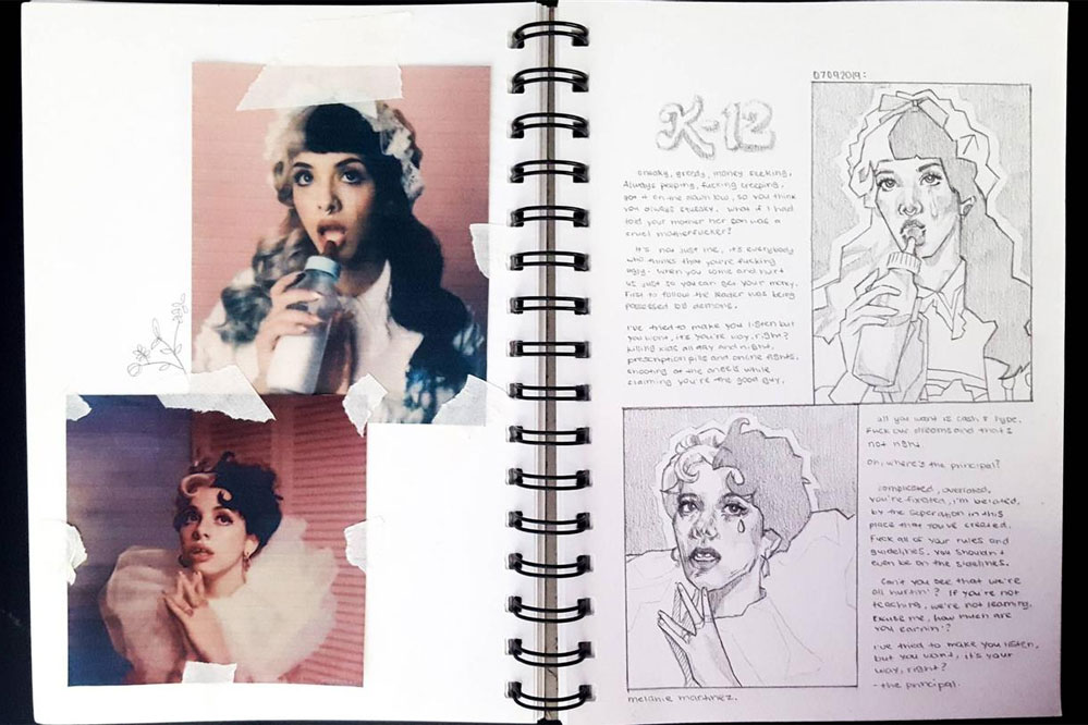Melanie Martinez: Notebook - перевод