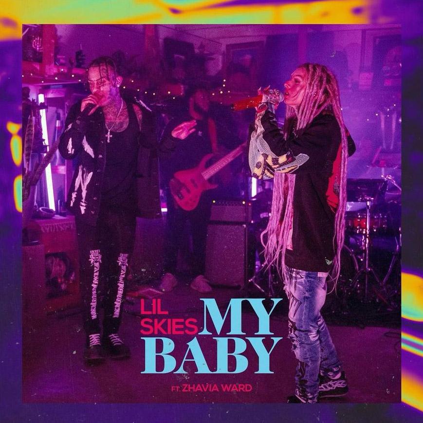 Lil Skies: My Baby ft. Zhavia Ward - перевод